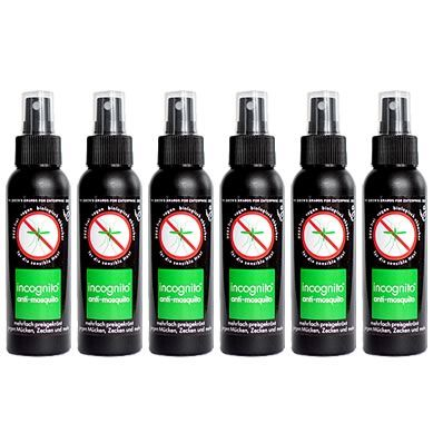Anti-Moskito-Spray incognito x6 Insektenschutz