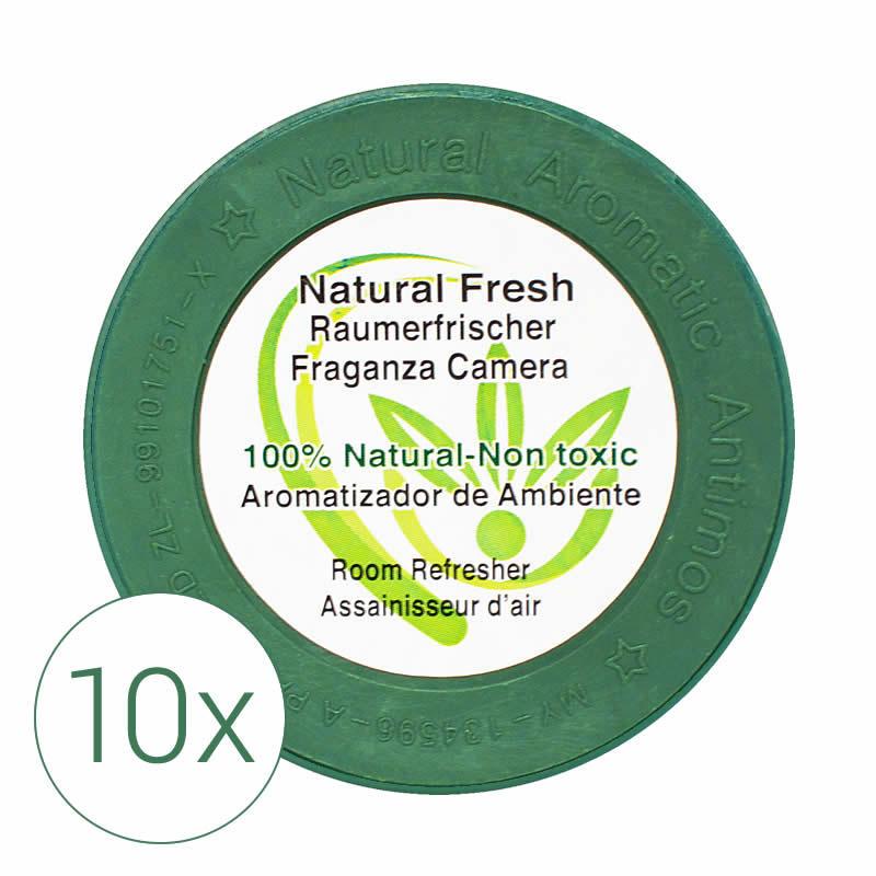 Raumerfrischer Natural Fresh, 10x