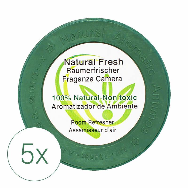Raumerfrischer Natural Fresh, 5x